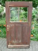 Nebeneingangs-Haustüre mit Lüftungsflügel, guter Zustand