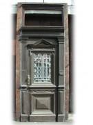 Historische Haustüre mit original Rahmen in Eichenholz