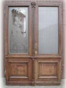 Windfangtür / Wohnungstür viel Glasfläche