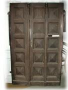 Historische Kassettenhaustür zweiflg.