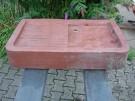 Sandstein-Spüle aus rotem Sandstein oder auch Waschtisch / Abtropftische u.s.w