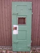 Schwere sichere massive Gefängnistüre, ohne Klappe u. Schloss