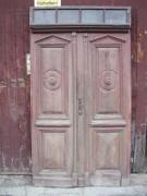 Historische Haustüre zweiflügelig, komplett mit Oberlicht und Kämpfer, zum Toppreis von 687,00 €