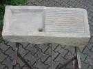 Sandstein-Spüle aus hellem Sandstein oder auch Waschtisch / Abtropftische u.s.w