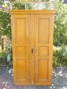 Historische Haustür zweiflg. mit Oberlicht und Kämpfer