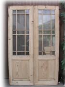 Windfang / Wohnungstür Holzsprosse