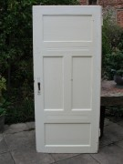 Historische Zimmertüren, vier Kassetten