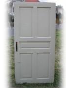 Satz sechs Stück gleiche Zimmertüren mit fünf Kassetten
