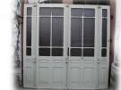 Vierflügelige Windfangtür / Wohnungstür