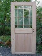 Antike Zimmertür, mit Holzsprosse