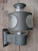 Alte Wandlampe, Lampe in Kupferblech