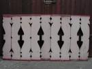 Balkonbretter der Gründerzeit , Lauflänge 8,40 lfdm, Höhe 86 cm