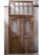 Windfang/Wohnungstür mit Rahmen