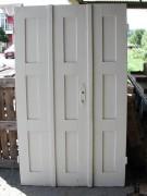 Flügeltüre zweiflügelig, sehr guter Zustand, schlichte Ausführung, Nadelholz