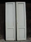 Flügeltüre, Wohnungstüre,  Abschlusstüre, Windfangtüre, zweiflügelig, mittig geteilt, Nadelholz