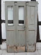 Biedermeier Haustüre von einer historischen Mühle in Eichenholz, einmaliges Topangebot, nur 375,00 €