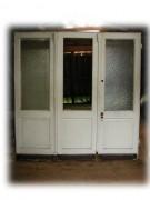 Dreiflügelige Windfang- / Wohnungstür / Raumteiler