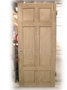 Zwei Stück gleiche Zimmertüren, sechs Kassetten