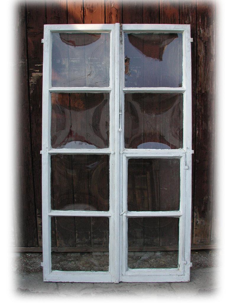 14 Stück Fensterflügel, gewölbten Scheiben, z.B. für Glaswand