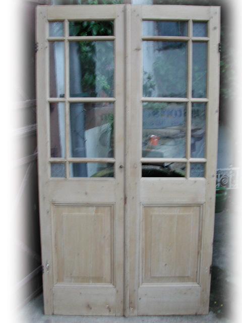 Antike Zimmertür, Holzsprosse