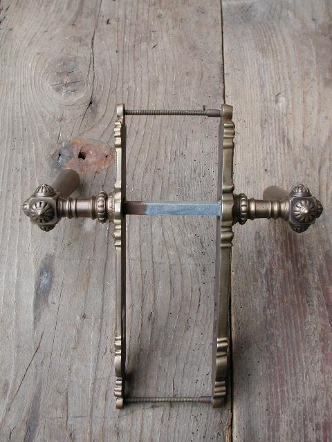 Haustür-Drücker / Außenseite feststehender Drücker / Replikat