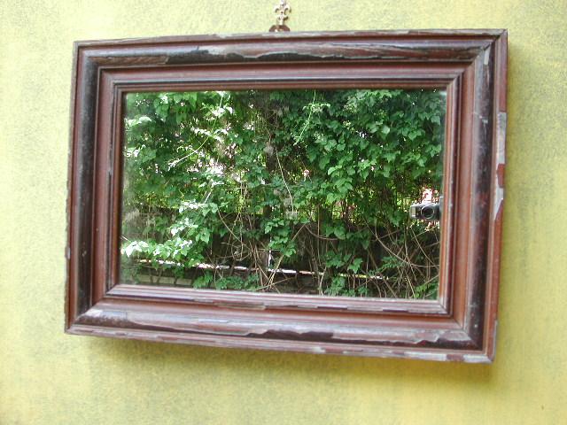 Antiker Spiegel, Historischer Spiegel mit original Rahmen