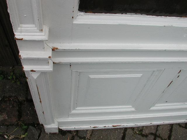 Windfangtüre, Abschlusstüre, Wohnungstüre mit original Rahmen u. Oberlicht