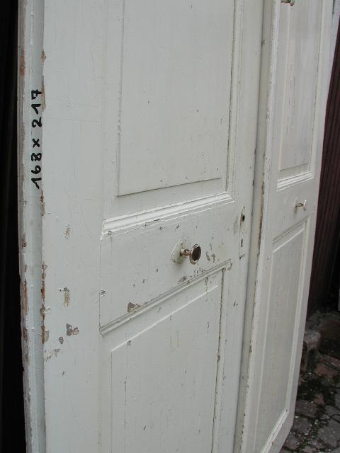 Flügeltür / Wohnungstür / Zimmertür, zweiflügelig aus der Barockzeit