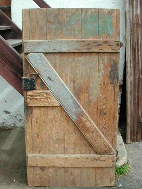 Scheunentor, Holztor, zweiflügelig