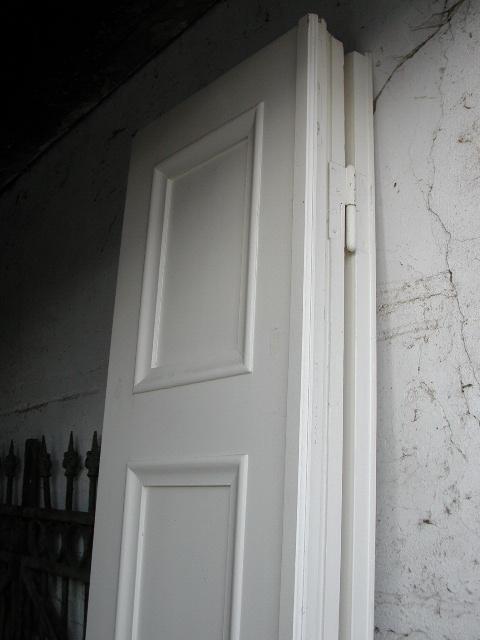 Sechsflügeliger Raumteiler / Faltwand / Ziehamonikatüre im Bestzustand